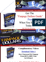 Facebook Fanpage Dollar Guide - Get It Free