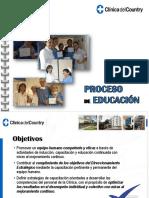 Proceso de Educación 2016