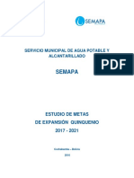 Plan de Desarrollo Quinquenal SEMAPA 2017-2021