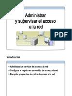 35.- Administrar y Supervisar El Acceso a La Red
