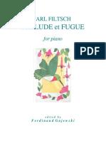 Filtsch's Prelude et Fugue