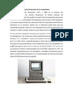 4ta y 5ta Generacion Computacion