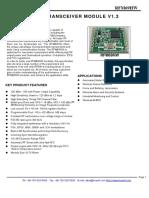RFM 69 User Manual