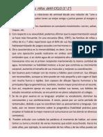 Características Del Estudiante de III IV y v Ciclo