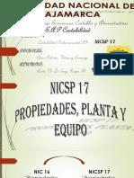 Nicsp 17-- Propiedades, Planta y Equipo