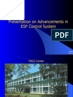 Advanced Control Systems for ESP 3