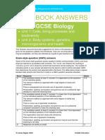 Biology CCEA GCSE Workbook