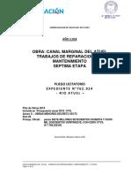 Reparacion canal