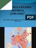 Prezentare Al Doilea Război Mondial Cls. 10