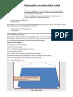 An Article on Tank Bulging Effect or Bulging Effect of Tank Shells