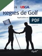 Règles de Golf 2019