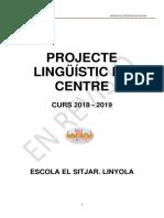 PLC Escola Sitjar 2018 19