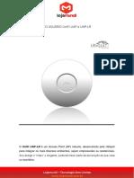 Pequeno Guia Do Usuário Unifi Uap e Uap-lr