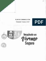 Plan de Comunicación de Verano Seguro 2018