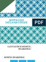 Miopatías Inflamatorias Ucsur 2018 PDF
