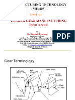 Gears & Gear Manufacturing Processes-2