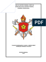 Plano de Operação Período Chuvoso CBMDF