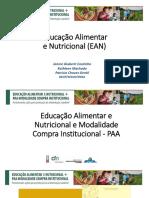 Apresentacao Educacao Alimentar e Nutricional