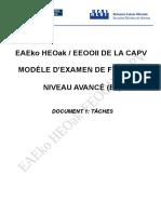 CE-Francais B2 Taches