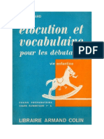 Elocution Et Vocabulaire Picard 1963