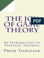 The Joy of Game Theory_ an Intr - Talwalkar, Presh