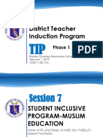 SESSION 19-Muslim Education