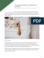 10-02-2019 - Llama Salud Sonora a poner atención a síntomas en niños pudiera ser cáncer -Elsoldehermosillo.com.mx