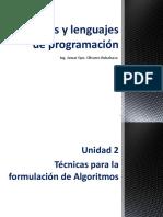 U2-Algoritmos y Lenguajes de Programación-P2