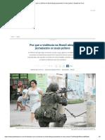 Por Que a Violência No Brasil Atinge Justamente Os Mais Pobres _ Gazeta Do Povo