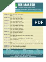 Conventional ES Schedule 2018 EE