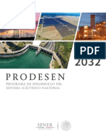 PRODESEN 2018 2032 Definitiva