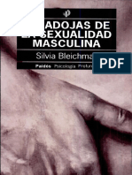 Paradojas de La Sexualidad Masculina- Silvia Bleichmar