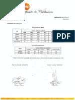 Certificado de Calibracao SONUS 1