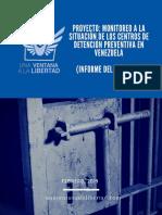Informe 2018 Situación de Centros de Detención Preventiva ONG Una Ventana a la Libertad