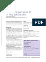 The Nurse s Quick Guide to I v Drug Calculations.1 (4)