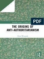 Witoszek - The Origins of Anti-Authoritarianism -Sanctum