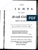 The Rights of the British Colonies