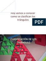 Los triángulos según sus lados