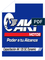 Manual de Taller AK 125 SC Dynamic