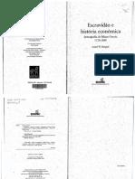[Coleção História] Laird W. Bergad - Escravidão e História Econômica_ Demografia de Minas Gerais, 1720-1888 (2004, EDUSC)