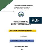 Guia de Aprendizaje Pedagogía y Didáctica General Feb-julio 2013-4-1
