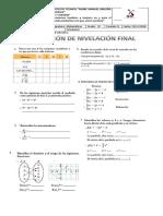 Evaluacion Nivelacion Final