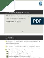 Aula4 - Matemática Discreta