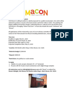 Visit Macon - Mural Proposal Guidelines
