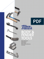 Body Fender Repair Tools Catalog