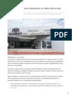 13-02-2019 - Descarta El Isssteson Desabasto en Redes Denuncian Presuntas Fallas -Elimparcial.com