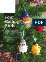 MK Crochet - Megan Kreiner - Four Calling Birds