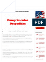 Cumprimentos e Despedidas Em Ingles (Meetings and Greetings) – Cursodeingles.online
