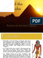 Pharaohs of Egypt-Menes