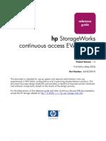 (PDF) HP Storage Works Continuous Acces EVA Design